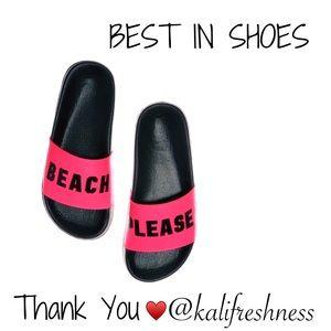 🎁 Victoria's Secret PINK Beach Please Sandals